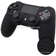 Estojo protetor anti-derrapante para pele de silicone para Sony PlayStation 4 PS4 Pro Slim Controller sem fio