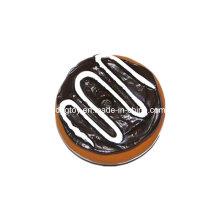 Vinyl Chocolate-Cake Pet Toy for Wholesale