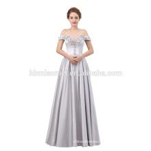 Luxury Formal Evening Gown floor length off shoulder evening dress 2018
