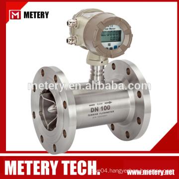 Turbine diesel fuel digital flow meter with 4-20mA