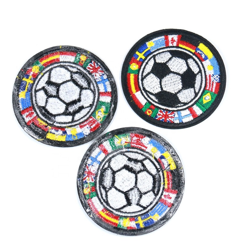 Patch Soccer Embroidery