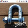 Us Type Carbon Steel Galvanized G2150 D Shackle