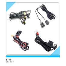 Kundenspezifisches Elecrical Nebel-Licht-Kabel, Auto-Licht-Webstuhl, Großhandelskabelbaum / Kabel