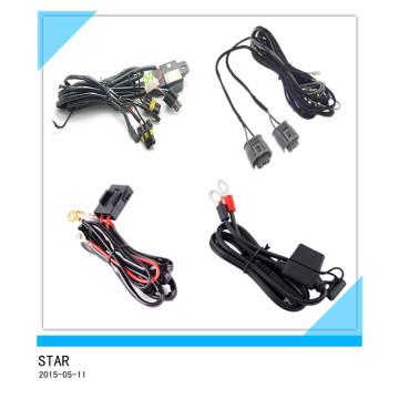 Cable de luz de niebla de encargo de Elecrical, telar de la luz del coche, cable de arnés / cable de la venta al por mayor