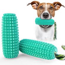 Amazon Creative Dog Water Floating Corn Toothbrush Sounding Toy