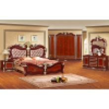 Cama antiga para mobília clássica do quarto (W801)