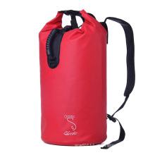 Impressão personalizada dupla mochila cinta 30l saco seco impermeável (yky7284)