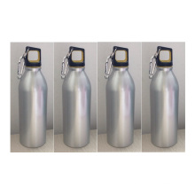 750ml Cheap Aluminum Sports Drink Bottle With Carabiner