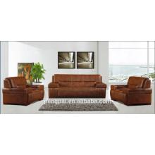 Reddish brown modern hotel office furniture high quality office sofa