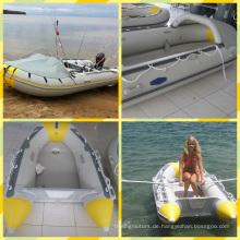 3,6 m billig PVC Schlauchboot zum Verkauf