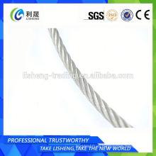 Aisi 304 7 * 19 Cuerda de alambre de acero inoxidable de 12mm