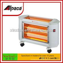 Stand china quartz heater with CB CE ROHS certificate