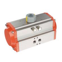 Actuador neumático utiliza el Gas seco o lubricado o inerte para trabajar medio