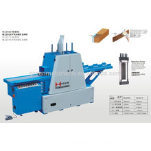 Woodworking frame saw with CE