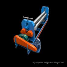 CNC iron sheet bender metal sheet rolling machine 3 roller steel plate bending machine