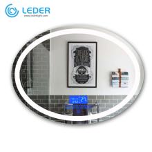 Miroir de salle de bain LEDER avec lumières