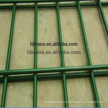Melhor venda de alta qualidade China Fornecedor Galvanizado Em Pó Revestido preto 656 painel de malha de cerca de arame soldado