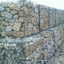 galvanisierte Steinkästen