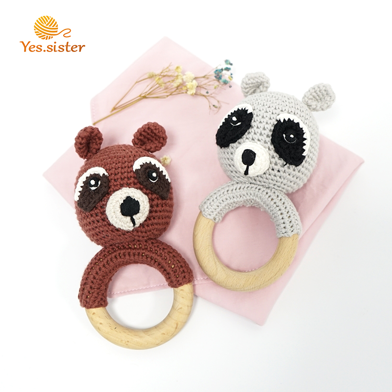 Crochet Bunny Teether