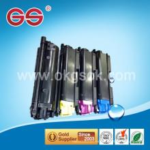 Recarga de tóner 590C / Y / M / K Reemplazo de cartuchos de tóner para Kyocera
