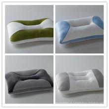 Almofada de espuma de migalha confortável colorido