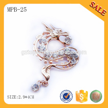 MPB25 Factory direct sale metal pin badge with butterfly clasp by Guangzhou