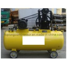 Bomba de compressor de ar de alta pressão conduzida por correia de pistão (HD-0.53 / 12.5)