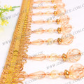 2015 NEW STOCKl Chinese Curtain Tassel Beads Fringe Trims for Curtain,Curtain Accessory