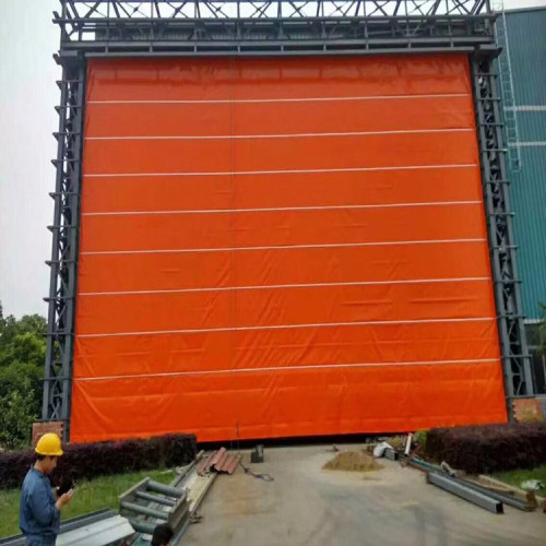 PVC Fast Action Factory Hangartor