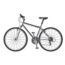 Aluminium Bicycle Frame Light