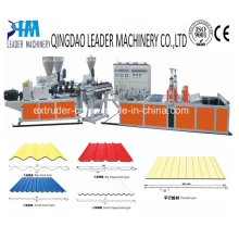 UPVC / PVC Corrugated Roofing Board Extrusionslinie