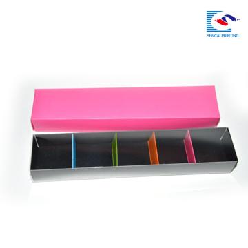 cajas de embalaje de macarrón impresas logo personalizado