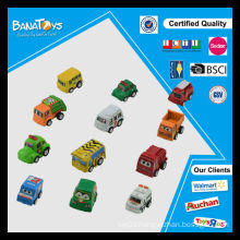 New style kids toys plastic car cartoon pull back toy