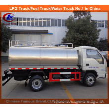 Strong 3m3 Mini Milk Truck for Polar Milk Transportation Tanker