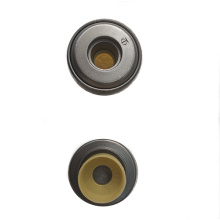 Rotating spring seat and oil cover components