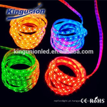 High Lumen impermeável 5050 RGB LED tira strip flexível led ip68 smd 5050 rgb led strip
