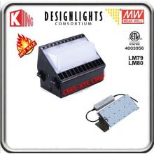 Pack de mur de lumière de paquet de mur de mur de 100W LED LED Pack Meanwell puissance et CREE Xte LED puce CE ETL Dlc