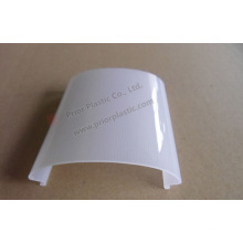 Perfil de la protuberancia del PC de superficie lisa para la luz LED