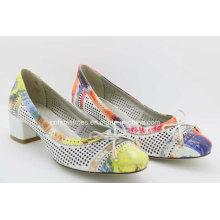 Cool Holes Trendy Low Heels Comfort Women Shoe