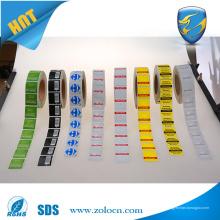 Etiqueta caliente de la etiqueta engomada de la seguridad de los eas de la venta etiqueta de los eas rf de 8.2mhz
