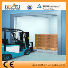 2015 DEAO Freight Elevator with Safety Car Wall (DFN25)