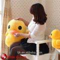 Neue Ankunfts-gute Qualitäts-super weiche Plüsch-große gelbe Ente