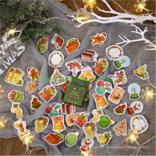 Christmas Adhesive Paper Sticker for Sealing and Decorating