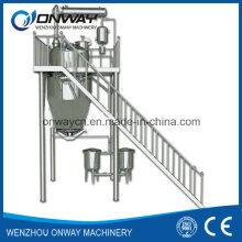 Rho High Efficient Factory Preis Energie sparen Hot Reflux Solvent Extrahieren Tank Herb Extracting Machine
