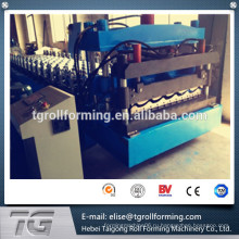 Новая технология Arc Bias Glazed Tile Roll Forming Machine на Alibaba