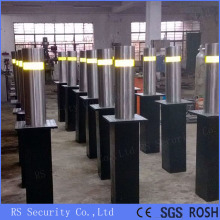 Lampu LED Light Automatic Retractable Parking Bollards