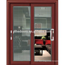 High quality !!Interior door aluminum glass balcony sliding door with fly screen