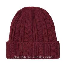 Пустая с заказным логотипом двусторонняя шапочка шапка хорошего качества