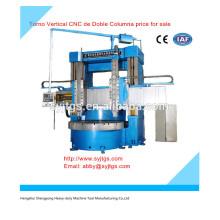 Torno Vertical CNC de Doble Column price for sale