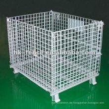 Heißer Verkauf Herstellung PVC beschichtet Drahtgeflecht Container / Draht Container Käfig